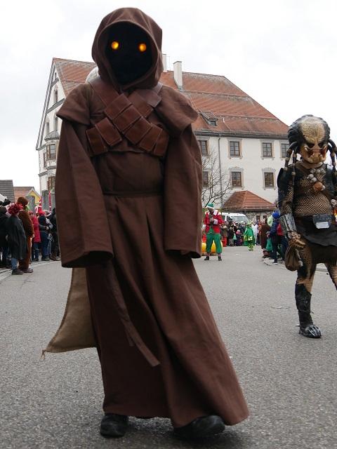 Star Wars auf dem Faschingsumzug Obergünzburg 2020