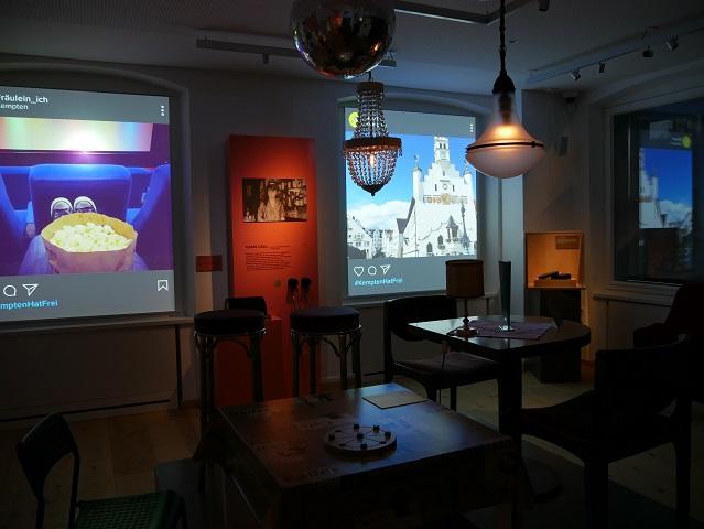 Themenraum Kempten hat frei im Zumsteinhaus