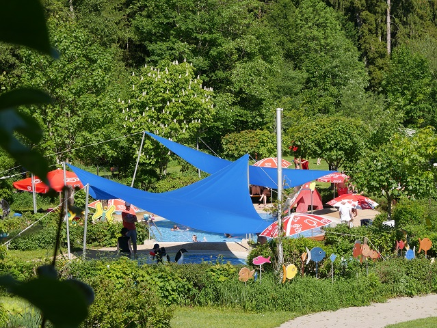 Kinderbecken im Alpenfreibad Scheidegg