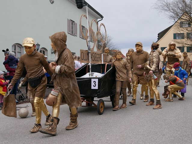 Olympiasieger 2020 im Fasching
