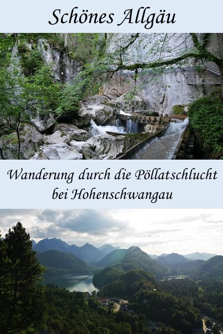 Wanderung durch die Pöllatschlicht bei Hohenschwangau