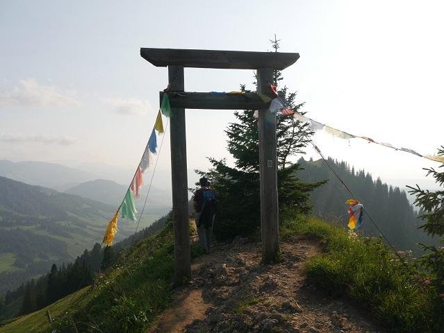 die Porta Alpinae auf dem Hochgrat