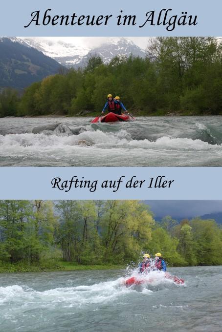 Rafting auf der Iller - Abenteuer Allgäu