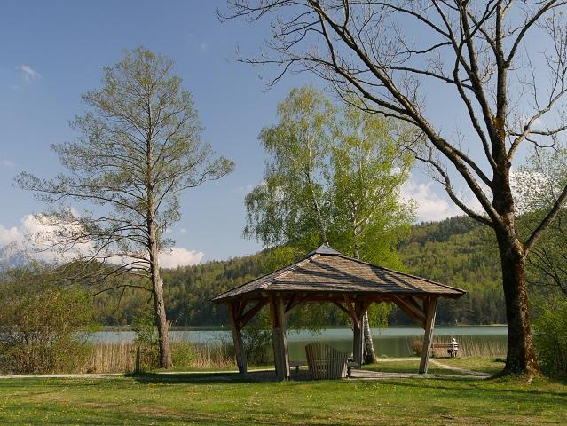Ruhebereich am Weißensee