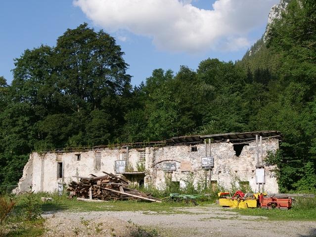 Ruine der Gipsmühle in Hohenschwangau