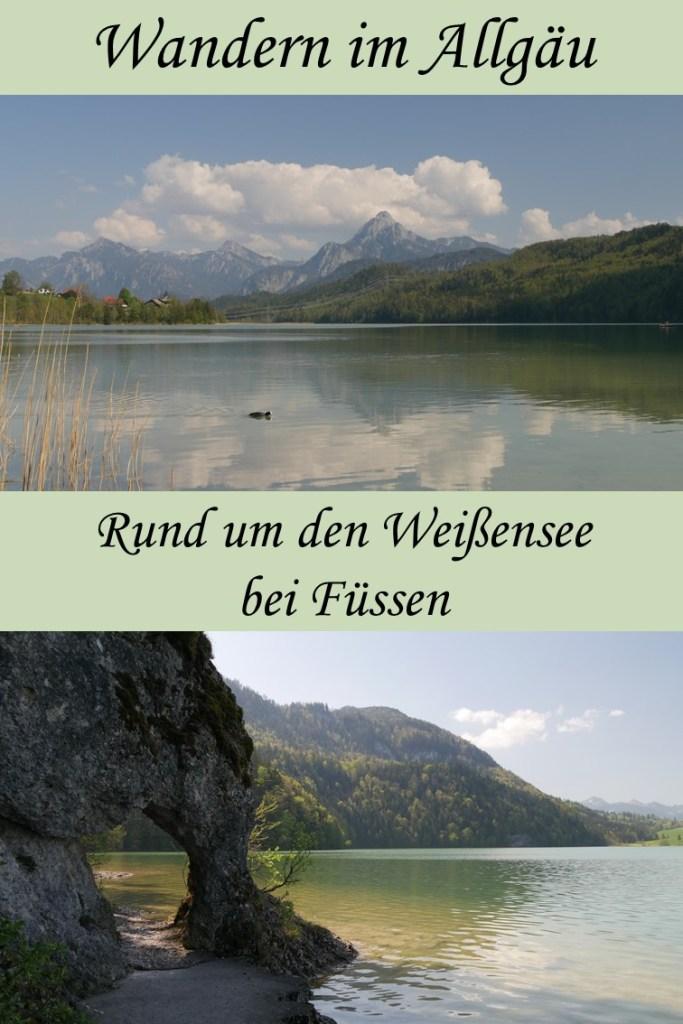 Wanderung um den Weißensee bei Füssen