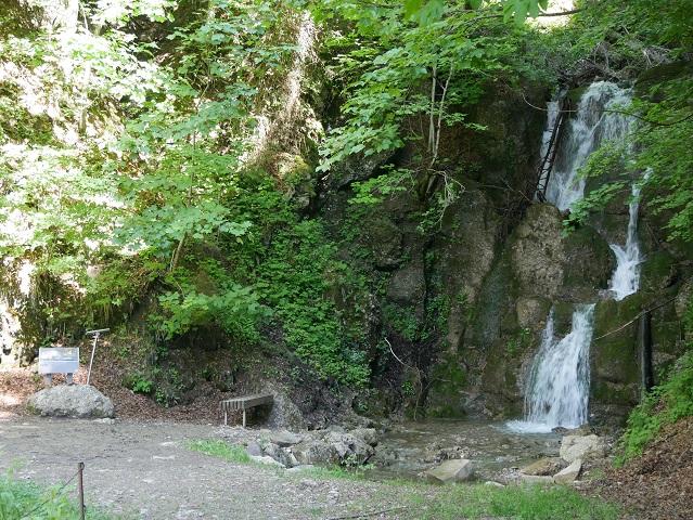 Wasserfall im Sägebachtobel oberhalb von Balderschwang