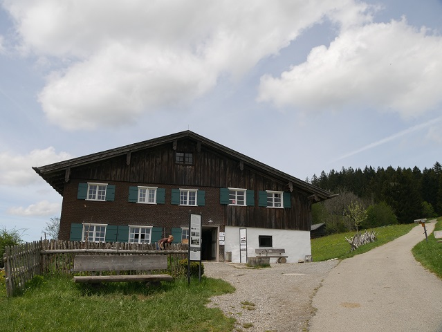 der Sattlerhof im Bergbauernmuseum Diepolz
