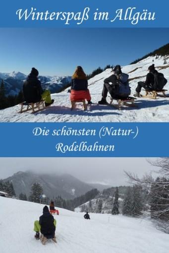 Schlittenfahren im Allgäu - die schönsten Rodelbahnen