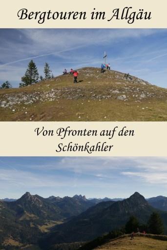 Bergtour von Pfronten auf den Schönkahler
