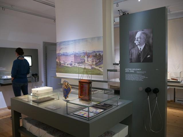 Themenraum Kempten als Textilstadt im Zumsteinhaus