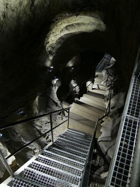 TTreppe in der Sturmannshöhle