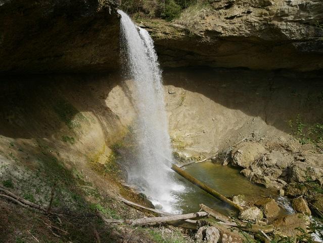 Unterer Wasserfall in Scheidegg