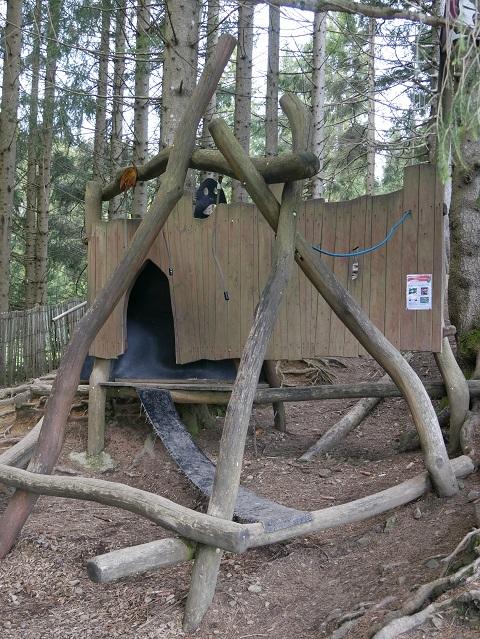 Waldspielplatz im Allgäuer Bergbauernmuseum