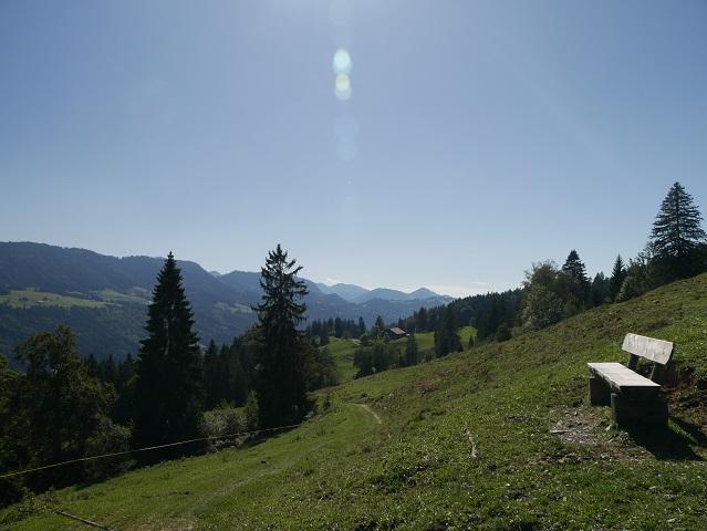 Wanderweg vom Alpseeblick nach Ratholz