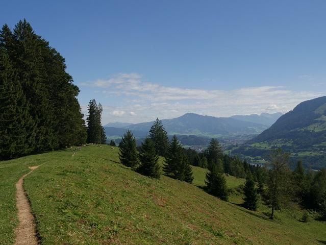 Wadnderweg von der Thaler Höhe zum Alpseeblick