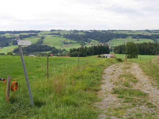 Wanderweg von Riegen nach Weiler