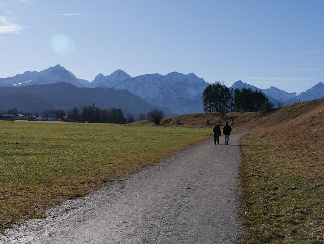 Wanderung bei Schwangau - zwischen Brunnen und Waltenhofen