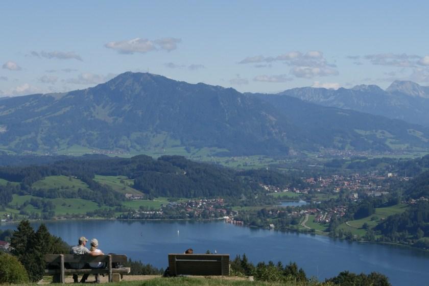 am Alpseeblick bei Immenstadt