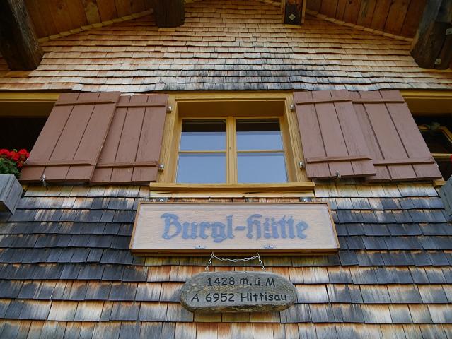 an der Burgl-Hütte