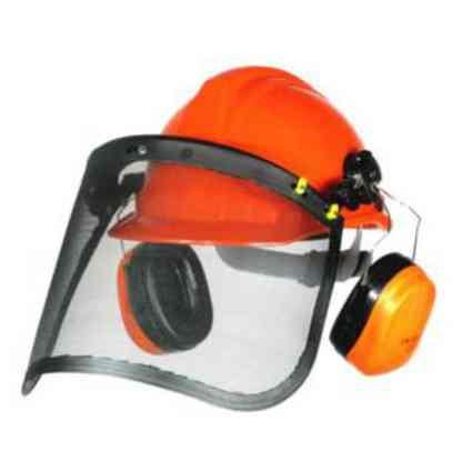 Helm-Set für Waldarbeiter