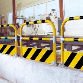 Industrie-Bügel mit Schutzblechwand