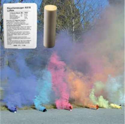 Rauchpatronen-Mix