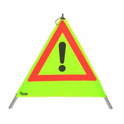Warnpyramide Reflektierend gelb