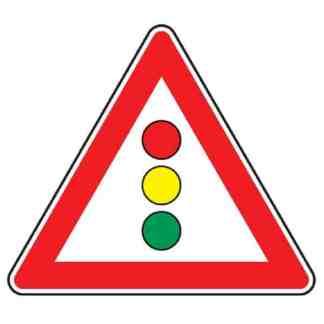 Lichtzeichenanlage - Verkehrszeichen nach StVO