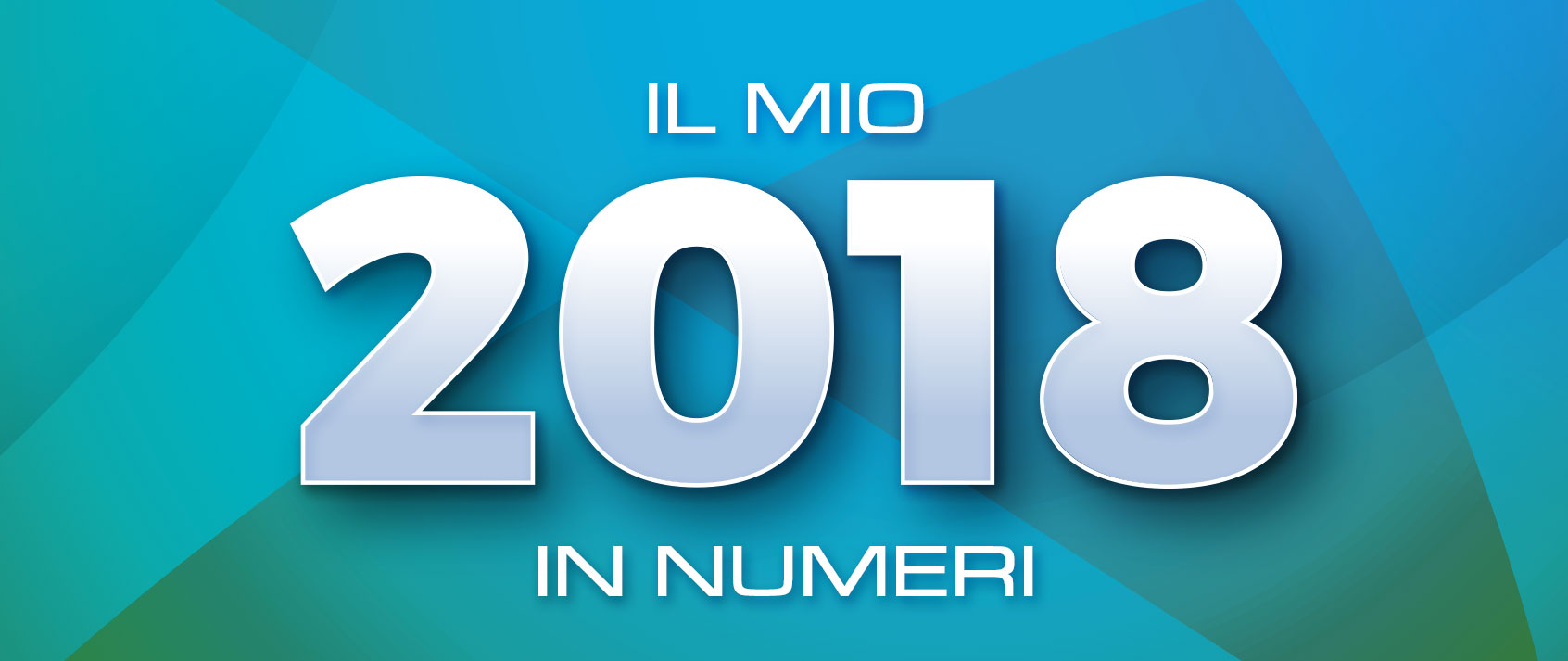 MY 2018 IN NUMBERS - BY TIBERIO FAORO