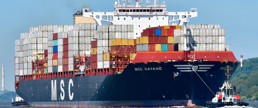 U.S. Seizes MSC Container Ship After Record Drug Bust