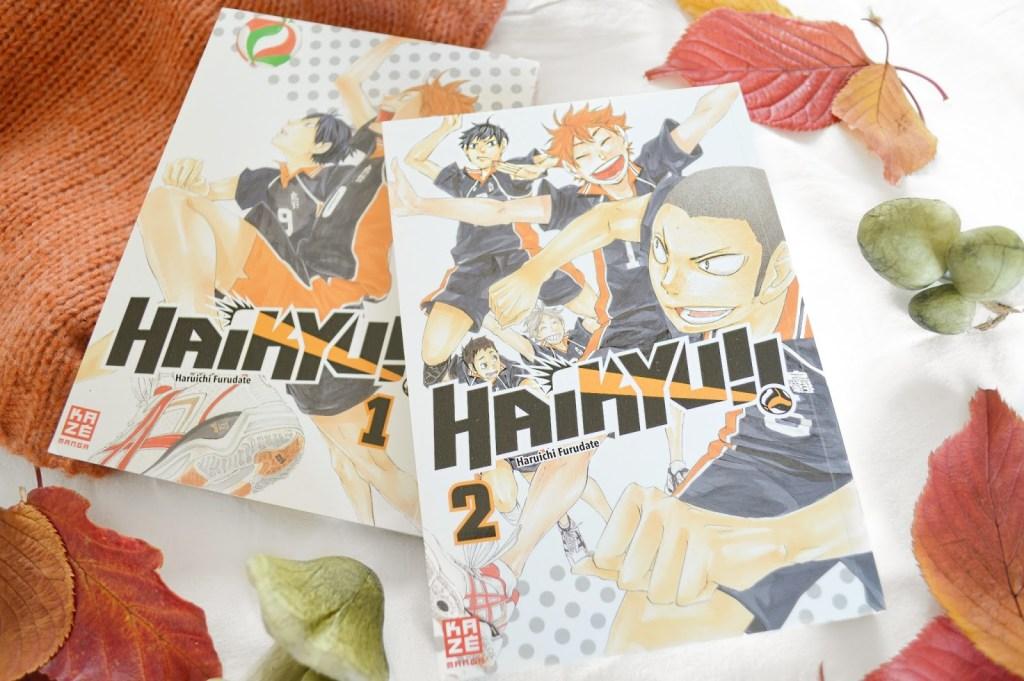 Kurze Rezension zu Haikyu!! 2 von Haruichi Furudate