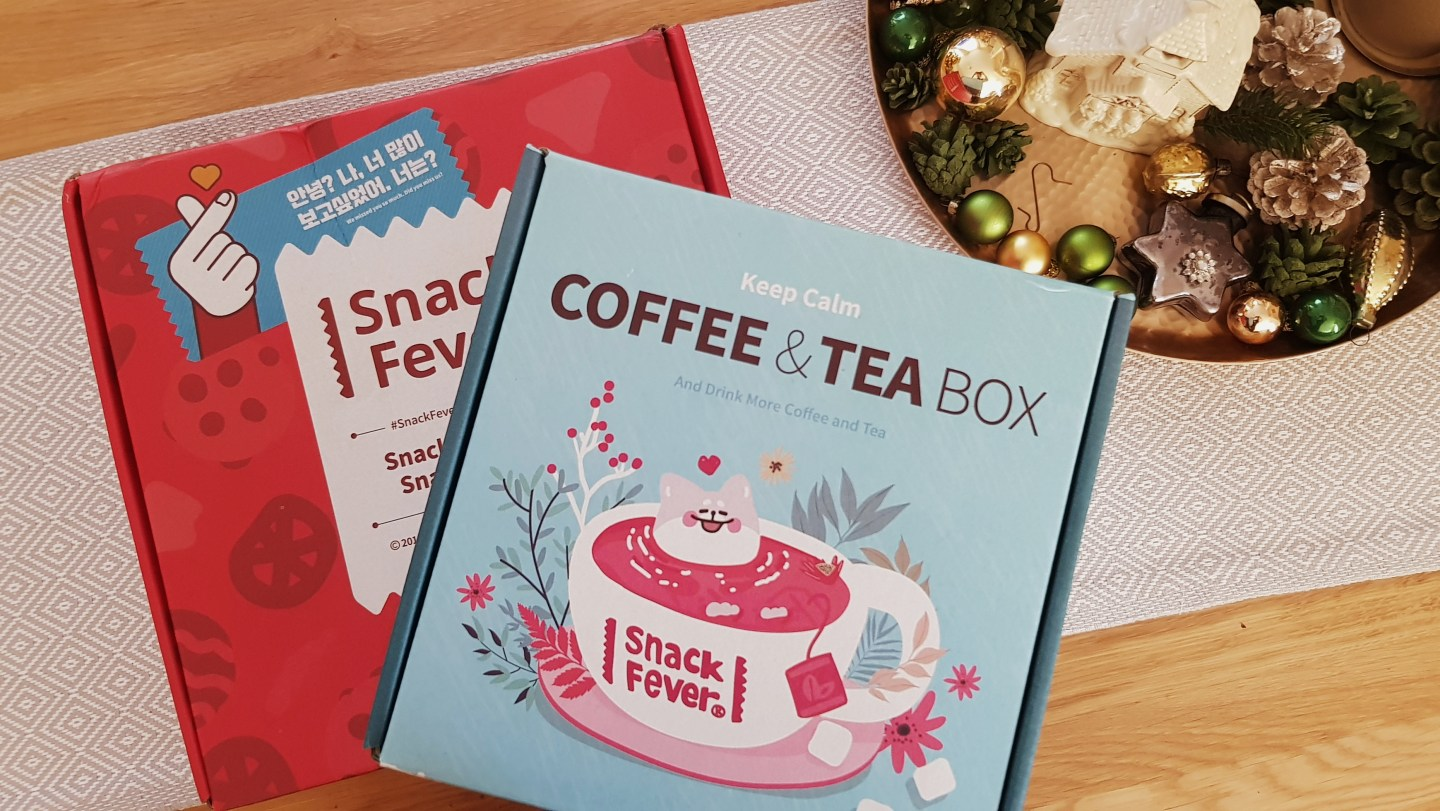 Unboxing | SnackFever Coffee & Tea Box