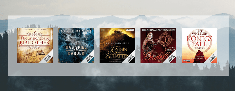 Hörbuch-Tipps auf Audible #1 | Fantasy