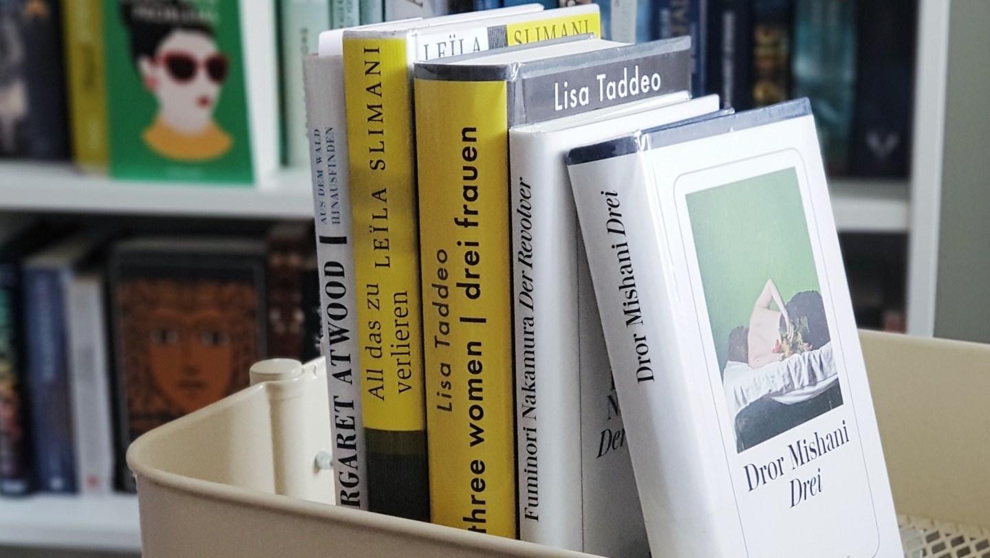 5 Bücher auf meinem Nachttisch