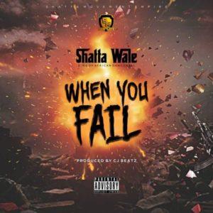 Mutiple award winning musician Shatta Wale has a new song tagged When You Fail.