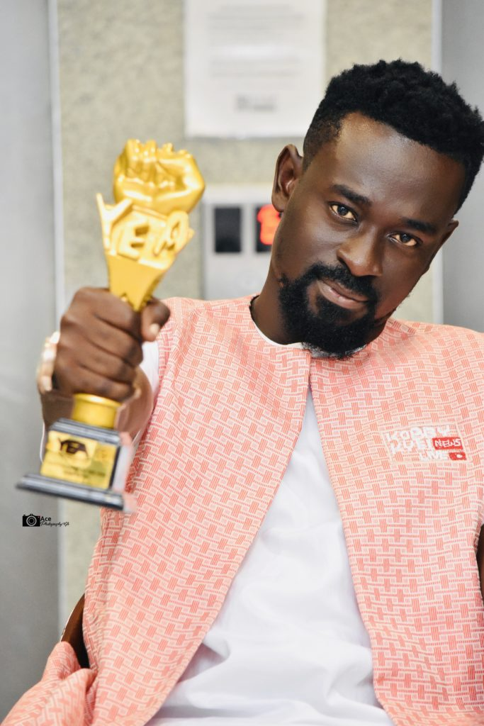 Kobby Kyei Crowned As YEA Best Youth Blogger Of The Year 2019