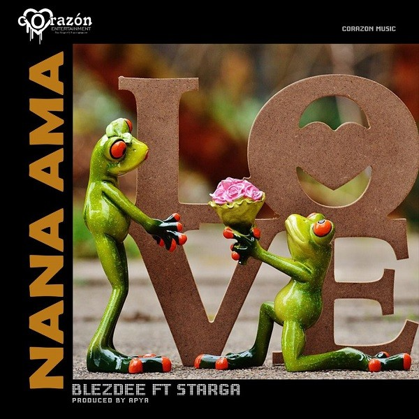 Ghanaian versatile rapper Blezdee of Corazon Entertainment comes through with a new love banger titled Nana Ama which features Starga.