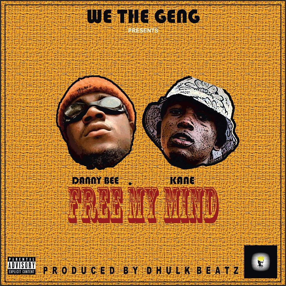 Up and coming Ghanaian rapper Danny Bee teams up with fast-rising rapper on this new tune dubbed Free My Mind and this masterpiece was mixed by D-hulkbeatz.