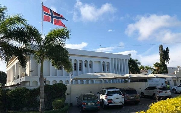 The Norwegian Embassy in Ghana has temporarily shut down its operation after one of its staff tested positive to coronavirus.