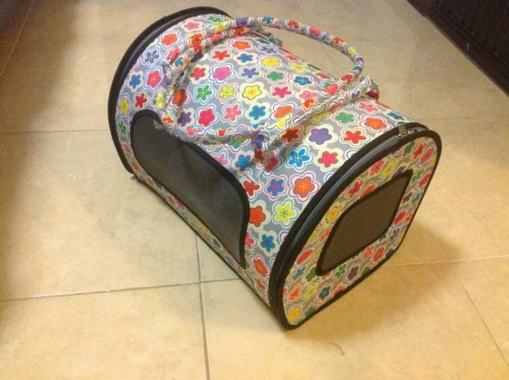 Colorful Cat Carrier
