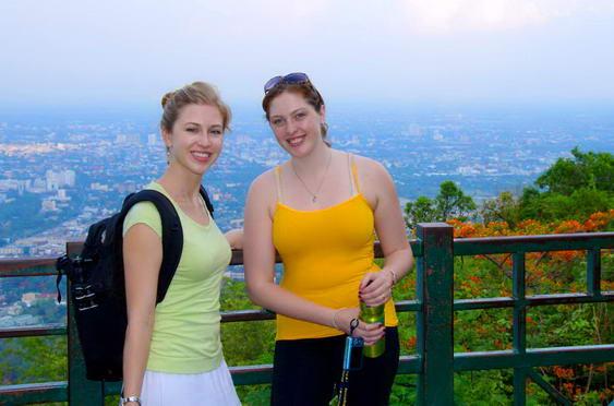 Doi Suthep Climbing
