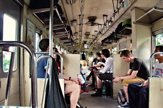 Hua Hin to Bangkok Train Seats