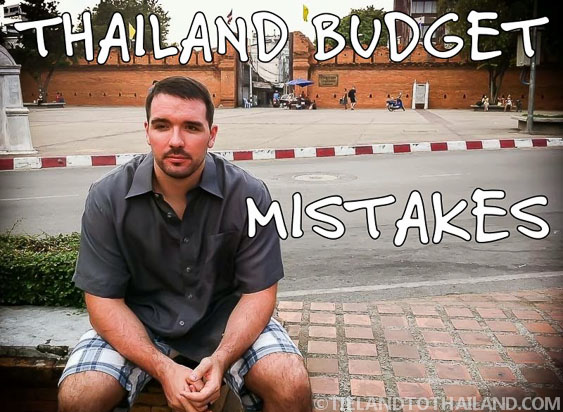 Thailand Budget Mistakes