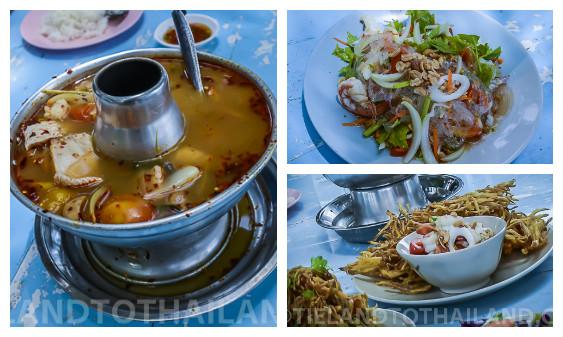 where to eat seafood in hua hin bahn hin rim haht (2)