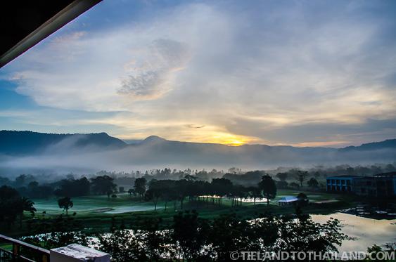 Nakhon Nayok Royal Hills Sunrise
