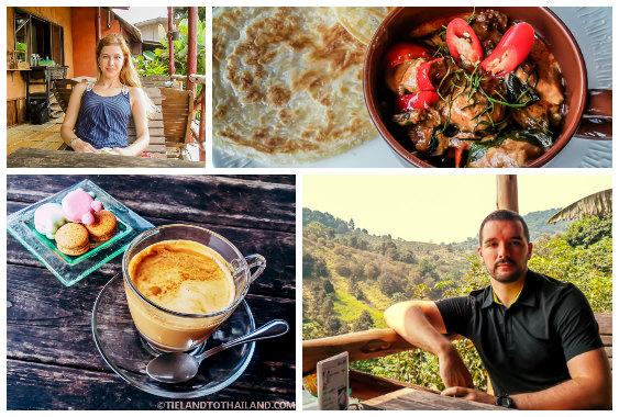 Curry, Coffee, Falang, Farang, in Mae Salong, Thailand
