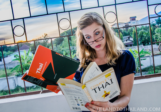 How do you teach yourself Thai?