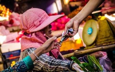 Rong Kluea Market in Sa Kaeo, Thailand