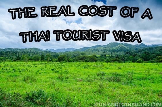 Cost of a Thai Tourist Visa